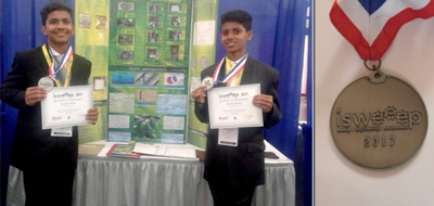 Teen uses fruits to make eco-friendly rubber